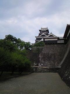 熊本城に…(@<br />  ゜▽゜@)