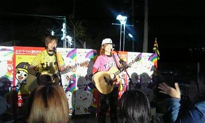 ダイエー甲子園前ライブ♪